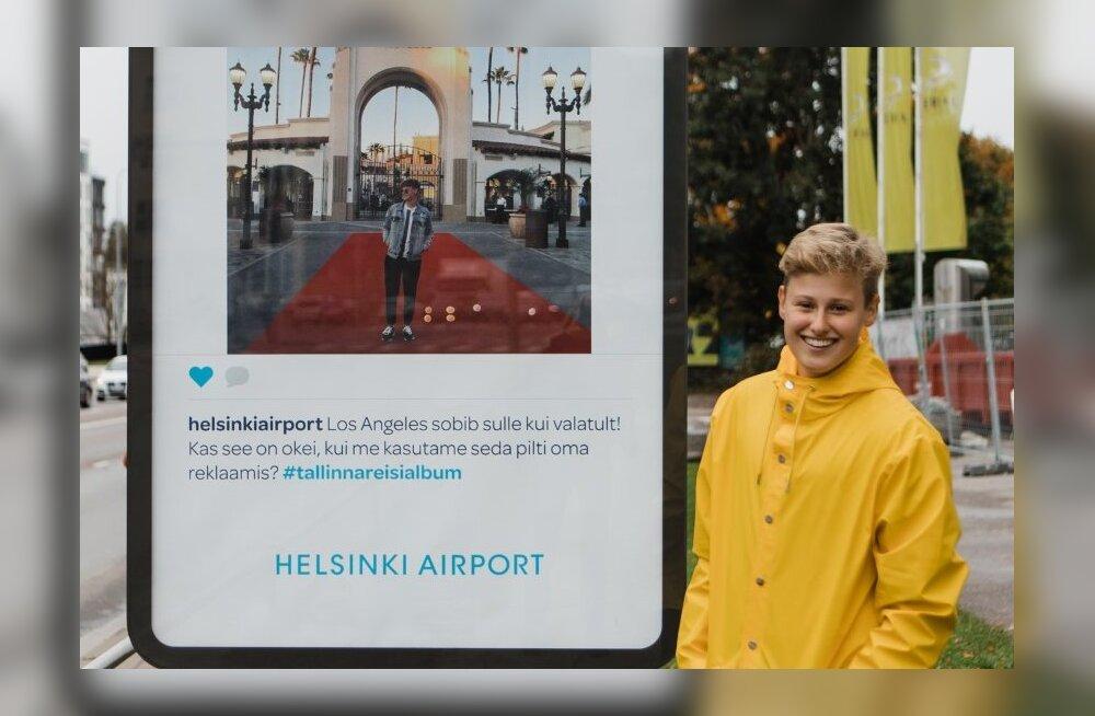Laulja ja reisi<em>influencer</em> ühes — Inger vallutab reisides nii laululavasid kui plakateid Tallinna tänavatel