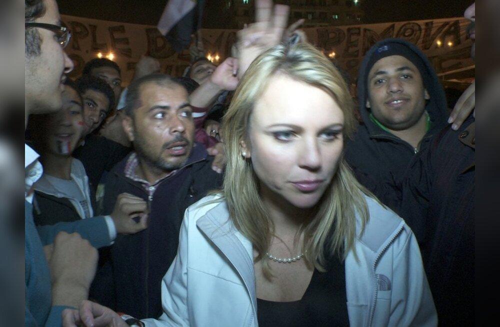 USA naisajakirjanik sattus Kairos vägistamise ja peksu ohvriks