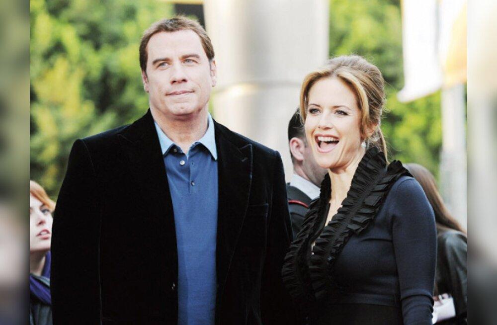 John Travolta ja Kelly Preston ootavad last?
