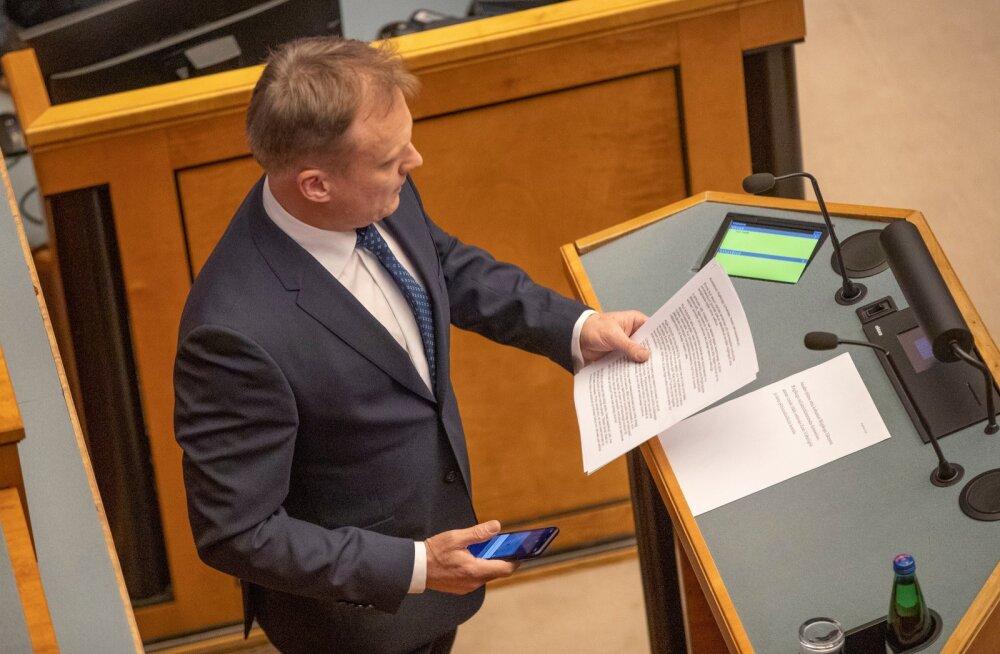 Imre Sooäär riigikogus