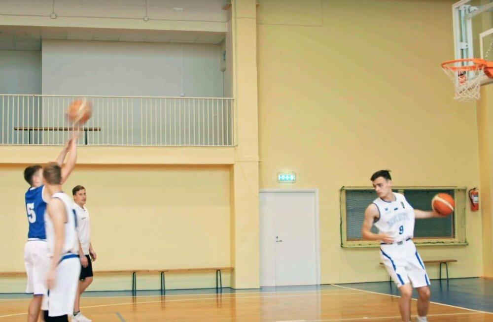 Eesti Koolispordi Liit ja Eesti Korvpalliliit avaldasid õppevideod korvpallioskuste arendamiseks