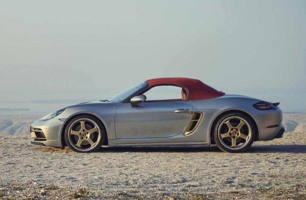 Porsche Boxster saab 25 aasta juubeli puhul erimudeli