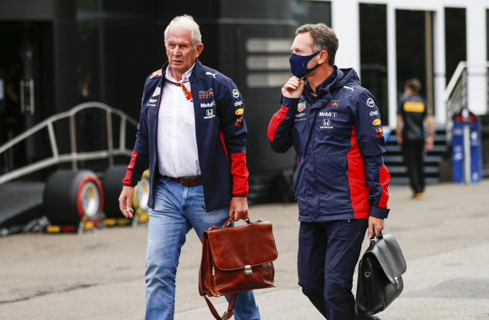 Red Bulli juhid astusid enda sõitja kaitseks välja ja kritiseerisid Hamiltoni: tema jutt on mõistetamatu
