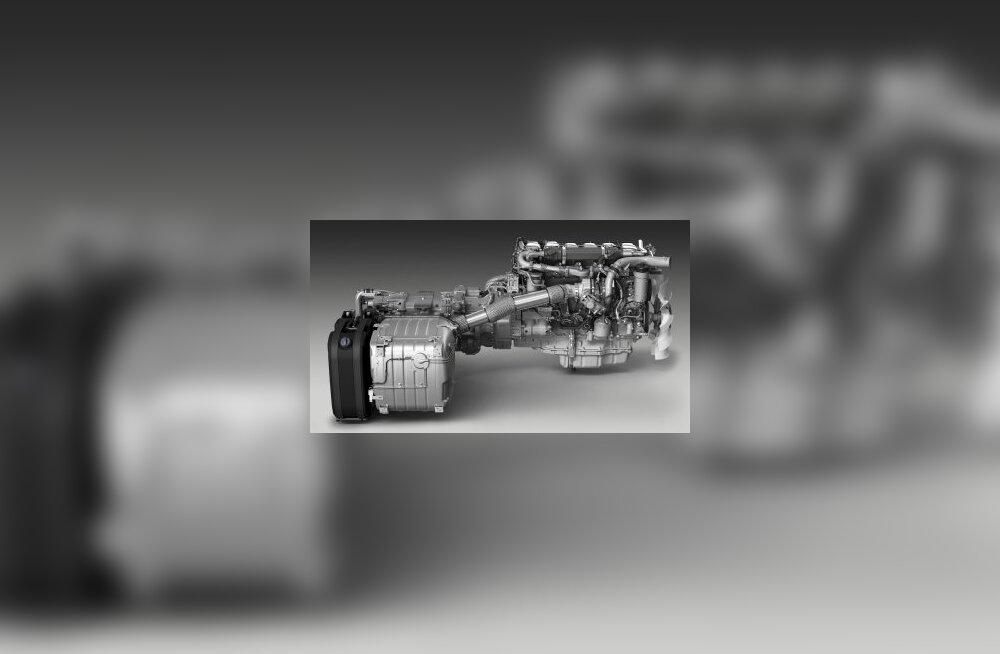 Scania 13-liitrine Euro 6 mootor koos väljalaskega