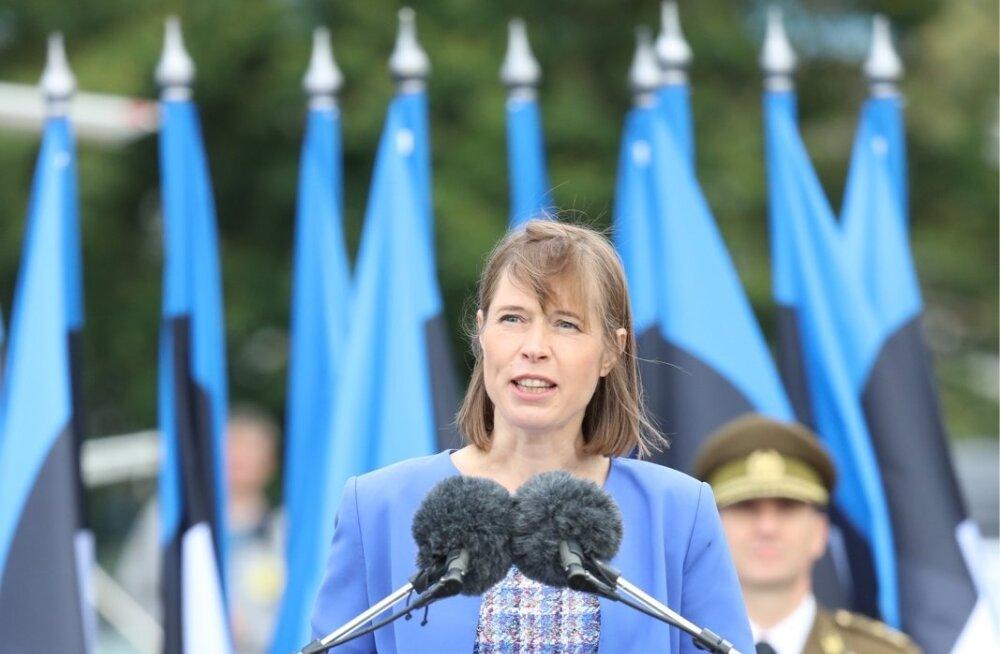 LOE TÄISMAHUS | President Kersti Kaljulaid: tarvis on õppida rünnet ära tundma ka siis, kui selles ei osale ühtki relva