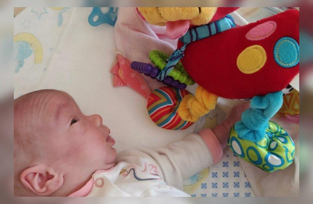 Enneaegsena sündinud pisike Mirtel vajab ravimit, mis aitaks hoida tema veresuhkru normi piires