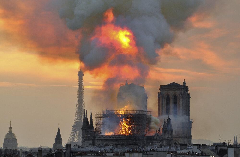 Pikaaegne rivaalitsemine Prantsuse miljardäride vahel tõi Notre-Dame'ile sadu miljoneid