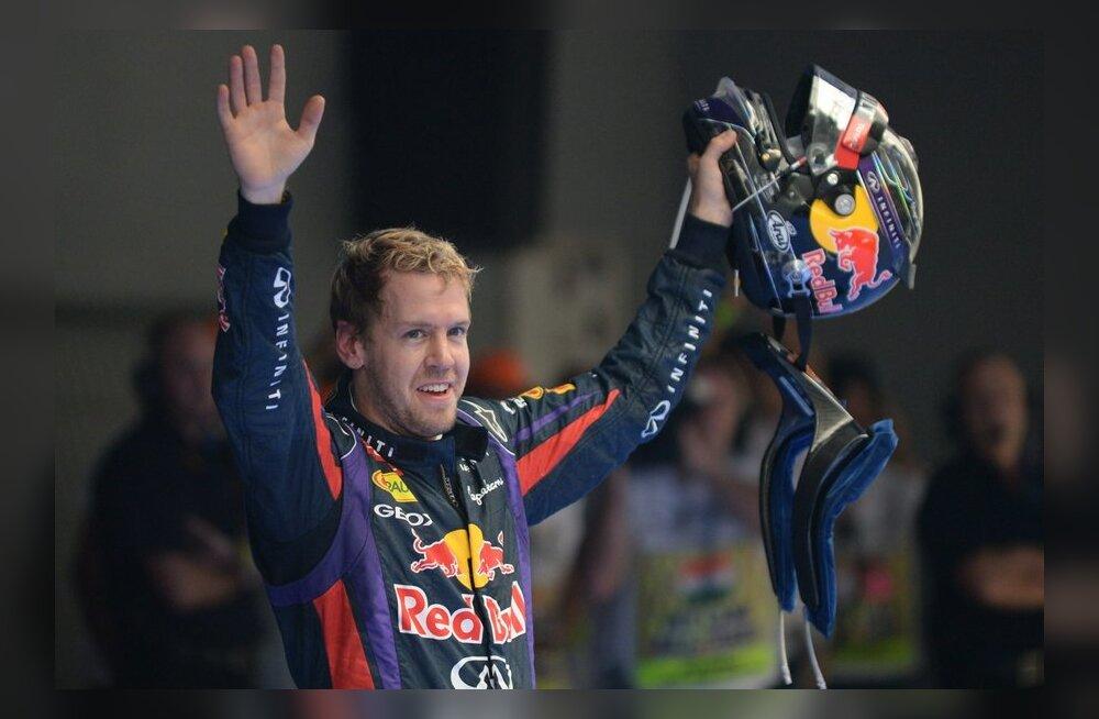 Peagi neljakordne maailmameister Sebastian Vettel