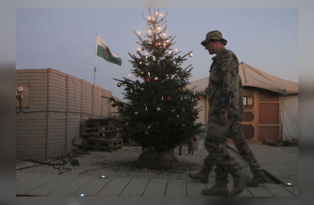 Kaitseväelaste jõulud Afganistanis möödusid teenistuses