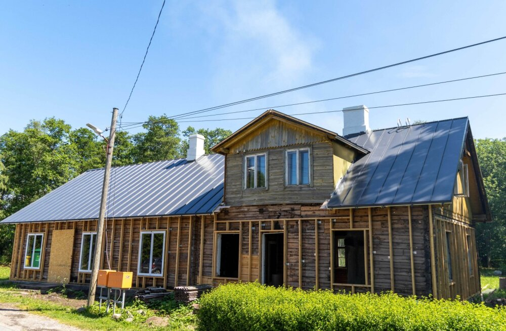 Банк поддержит ремонт построенного более 100 лет назад поселкового магазина