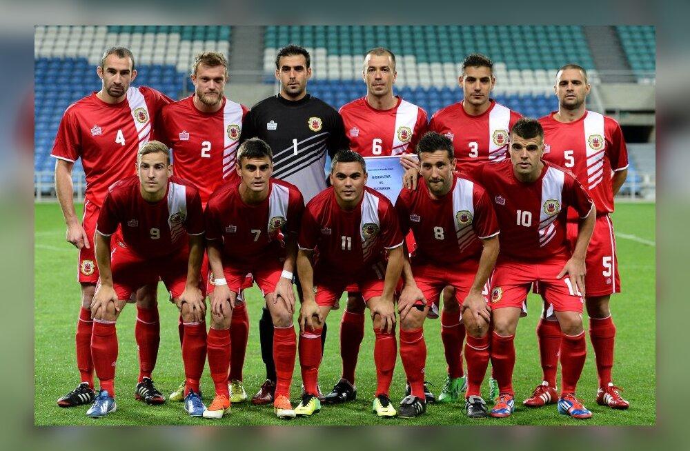 Gibraltari jalgpallikoondis