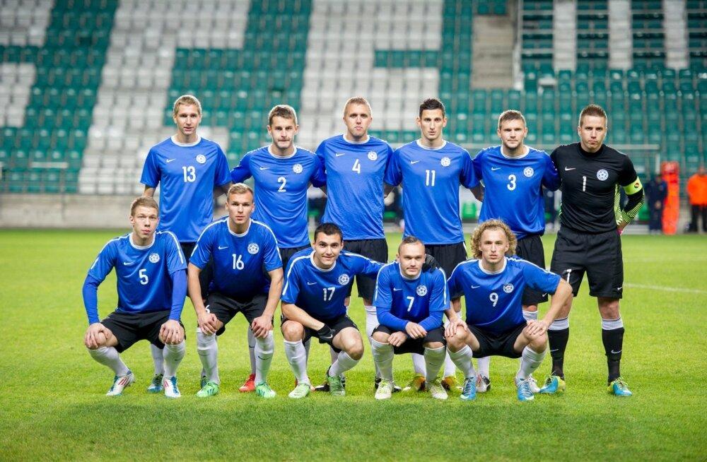 Eesti - Türgi lilleküla staadionil