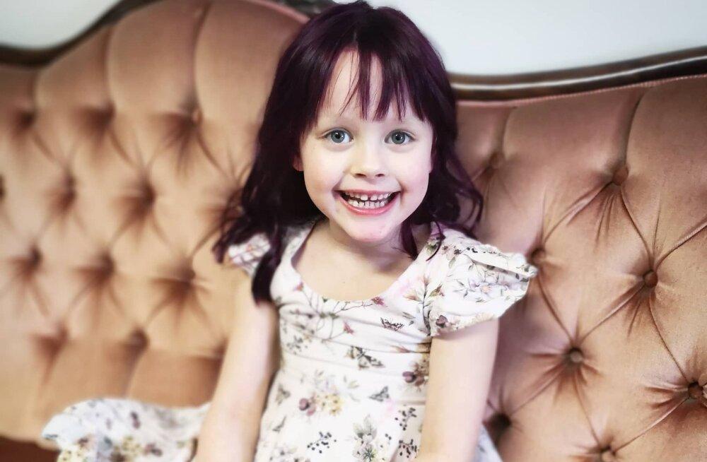 Emmed närvis! Mallukas lasi oma 5-aastase tütre juukseid värvida: laps saab, mis laps tahab! Ega ma talle siis tätoveeringut teinud