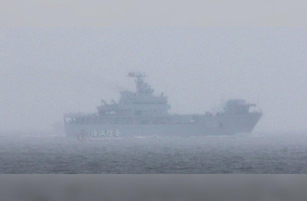 Hiinlased saatsid merele laeva, mille pardal räägitakse olevat võimas relsskahur