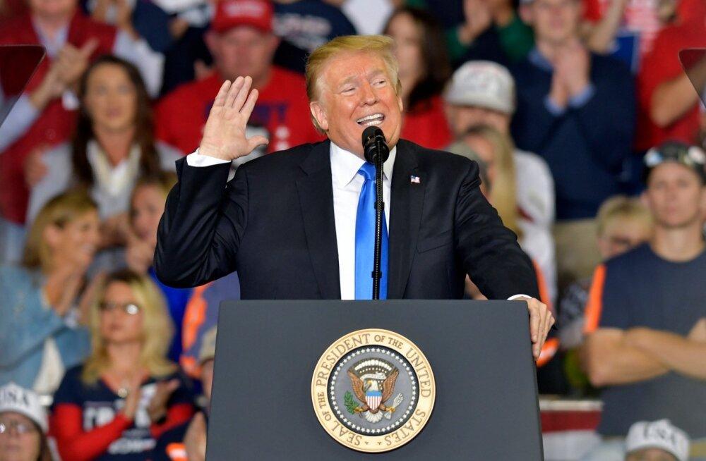 CNN-i küsitlus: üha rohkem ameeriklasi usub Donald Trumpi presidendiks tagasivalimist
