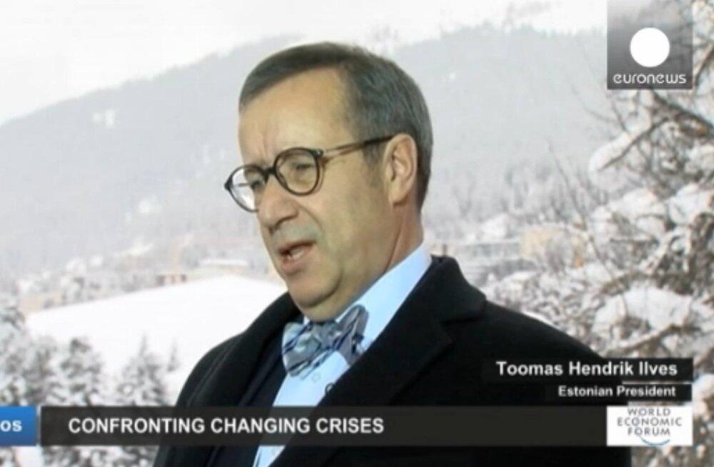 VIDEO: President Ilves Euronewsile: Putin on omale tee läbirääkimistelauda lahti pommitanud