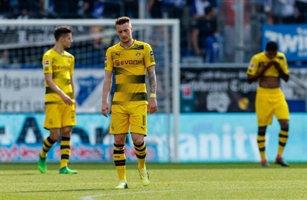 Viimases voorus kaotanud Dortmund pääses Meistrite liigasse vaid tänu väravate vahele