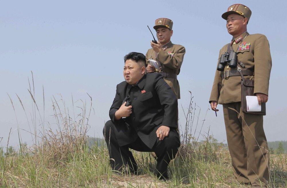 Põhja-Korea allveelaev jäi riigi idaranniku lähedal kadunuks