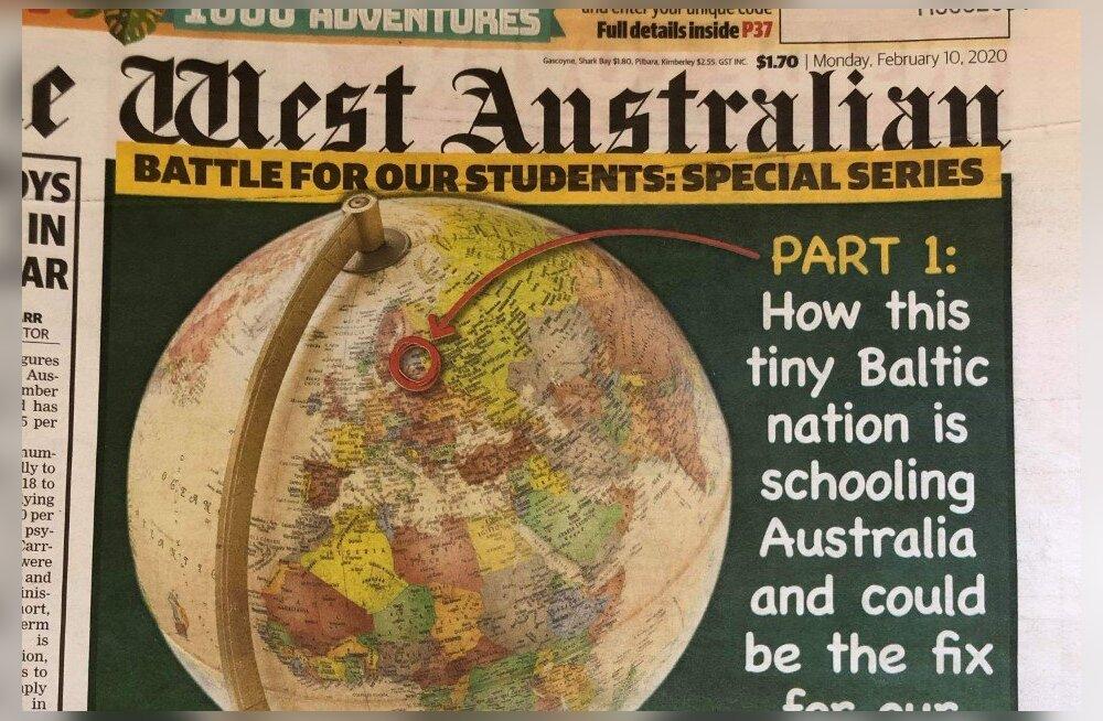 """Austraalia ajaleht: """"vähe tuntud ja Perthist väiksem Eesti"""" jätab meid hariduse vallas varju"""