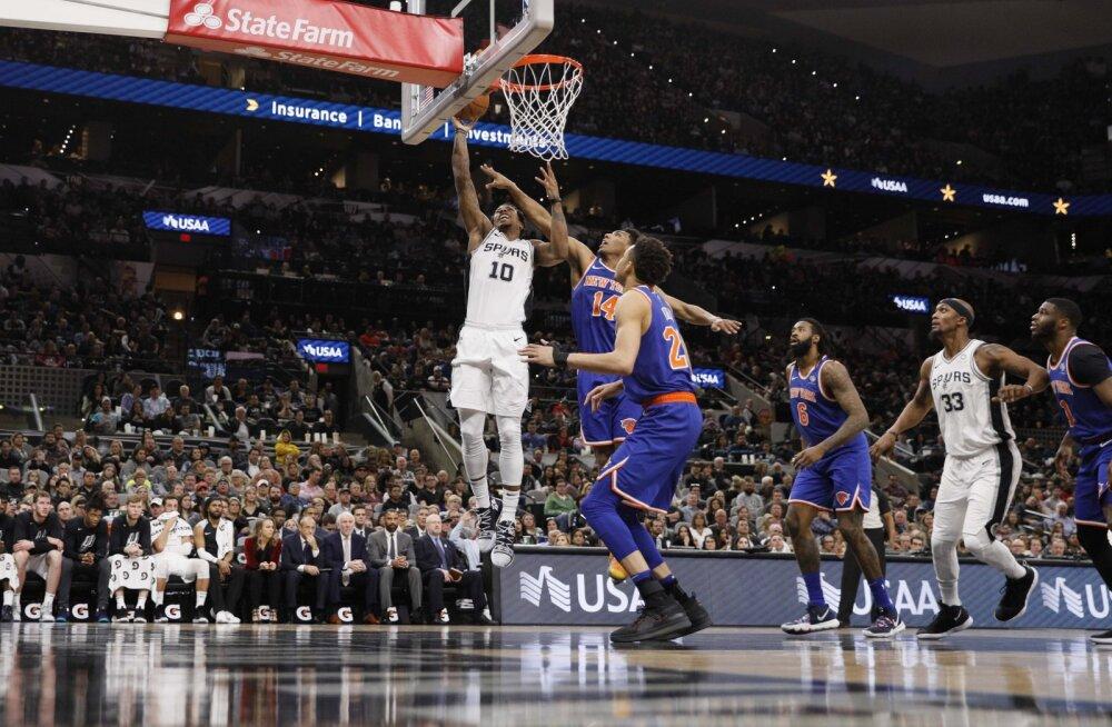 VIDEO | Spurs võitis seitsmenda mängu järjest, Harden sai hakkama ainulaadse saavutusega