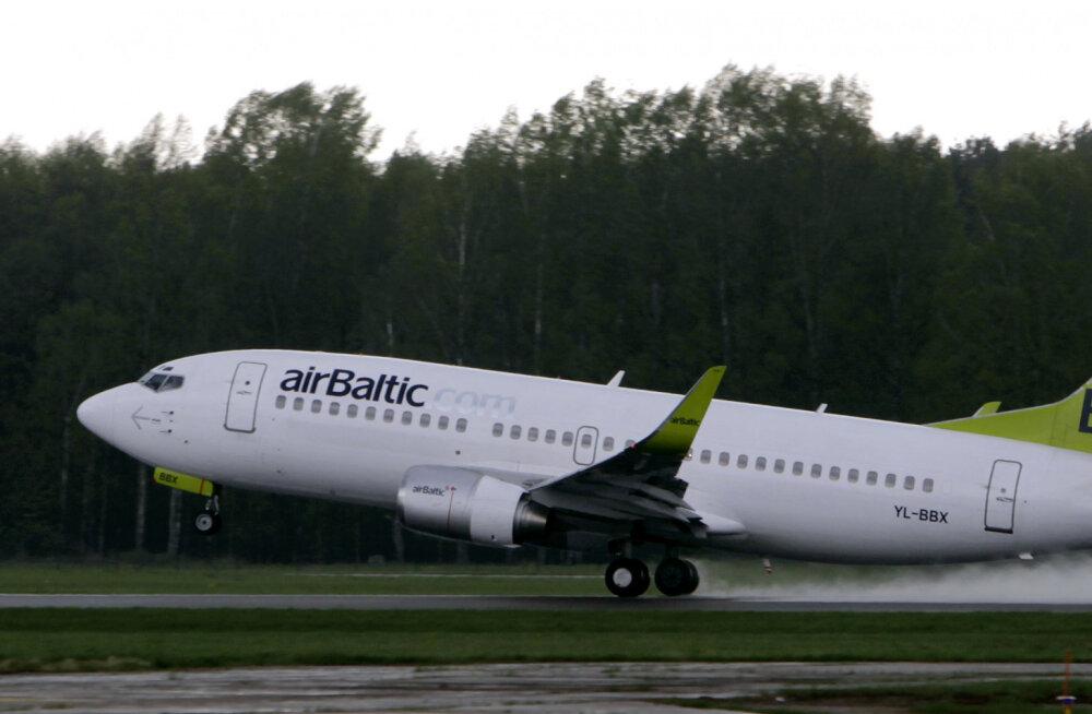 За первый квартал 2019 года рост пассажиров airBaltic в Эстонии составил 32%