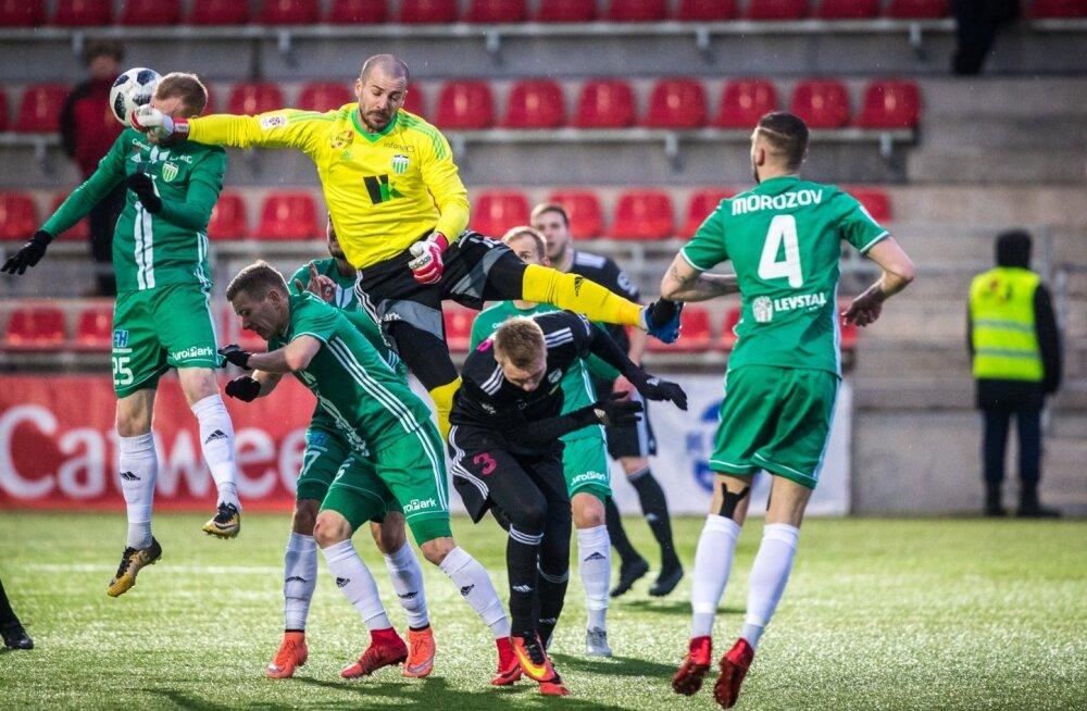 Jalgpalli Premium liiga: FCI Levadia - Nõmme Kalju