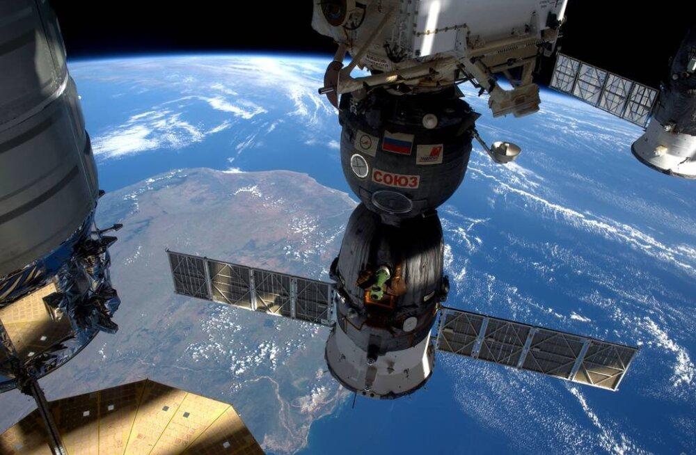 Kuus kosmoselaeva korraga: Kosmosejaamas tuli parkimiskohtadest puudus kätte