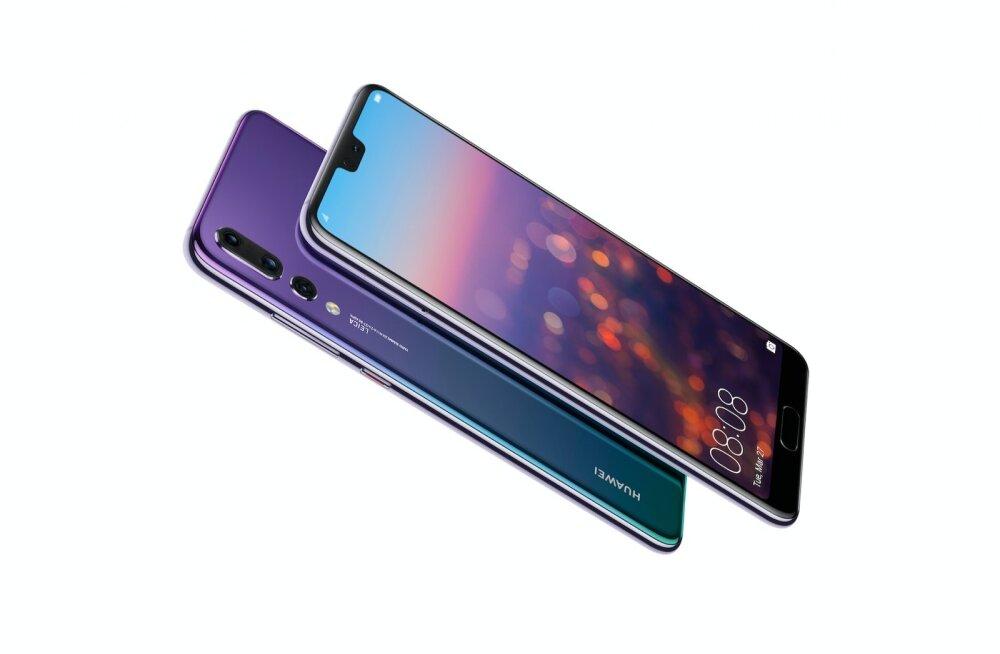 Huawei uus tipptelefon P20 Pro on Hiina firma toodetuist seni vägevaim