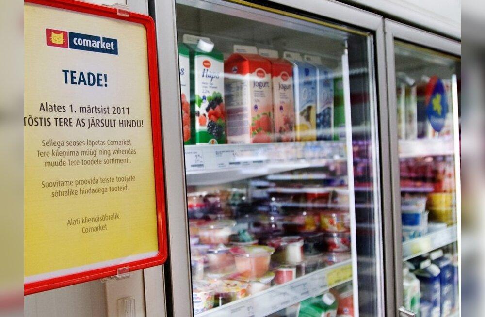 Молокозавод Tere и сеть магазинов Comarket готовы помириться