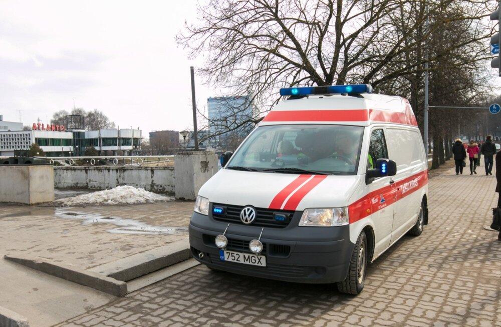 Rally Estonia lava ehitusel juhtus raske õnnetus, 22-aastane mees võitleb haiglas elu eest