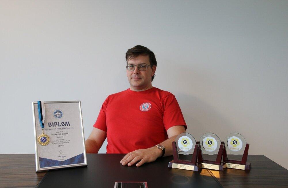 """Главный тренер """"Легиона"""" Денис Белов"""