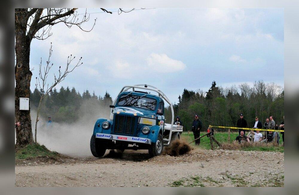 auto 24 rally Estonial kihutavad ka veoautod