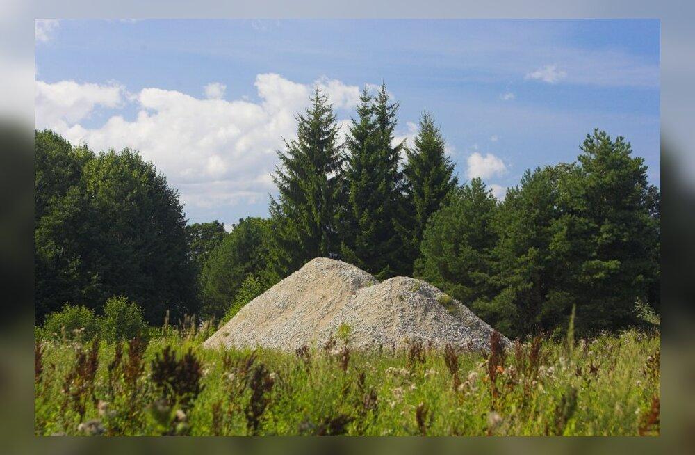 Kruusapuudus Pärnumaal võib aeglustada Rail Balticu ehitamist