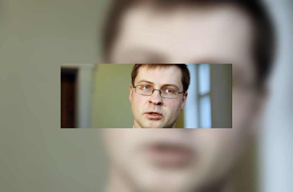 Dombrovskis: Lätit võib juunis oodata pankrot