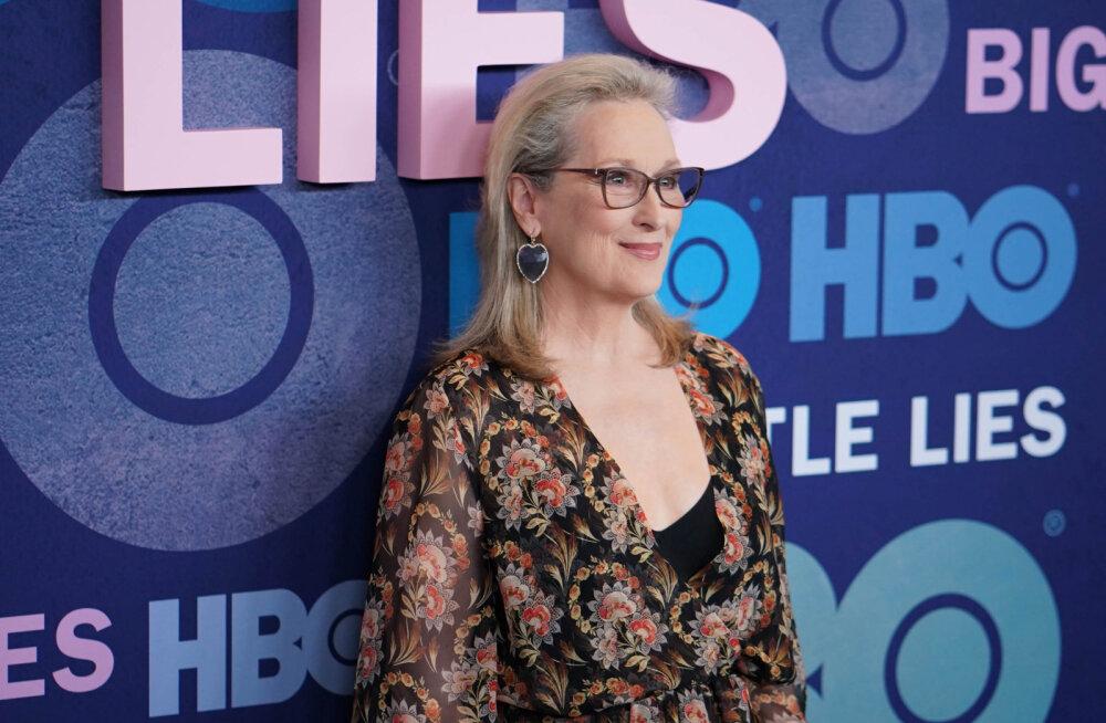 """Tõeline joovastus! Meryl Streepi debüüt telesaates """"Suured väiksed valed"""" lõi fännide vererõhu lakke"""