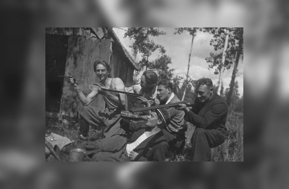 Vana pilt meenutab: Süta metsavendade punker 1941. aasta sõjasuvel