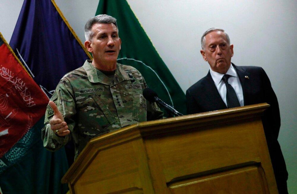 USA väejuht Afganistanis: Venemaa arvatakse olevat Talibani relvade allikas