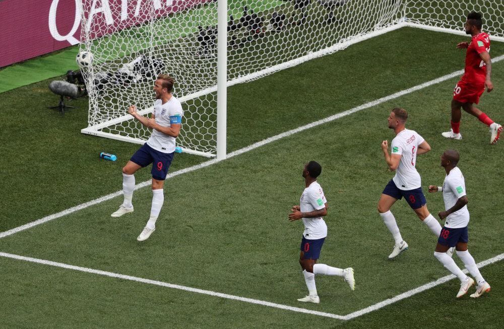 Harry Kane (Inglismaa) realiseeris teise penalti