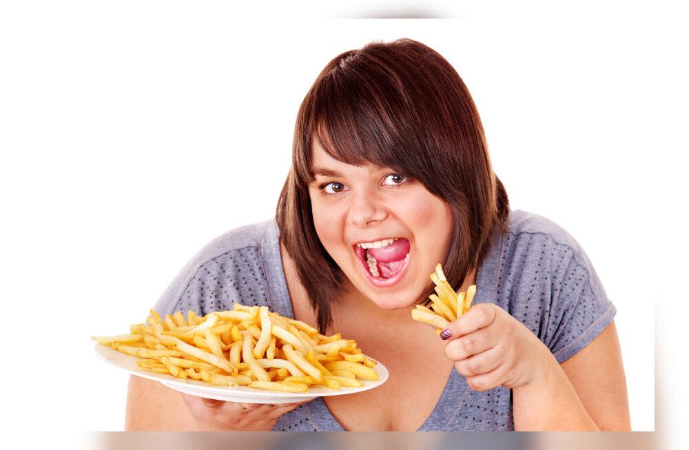 Liigsöömine, ülekaalulisus ja selle vaimsed põhjused