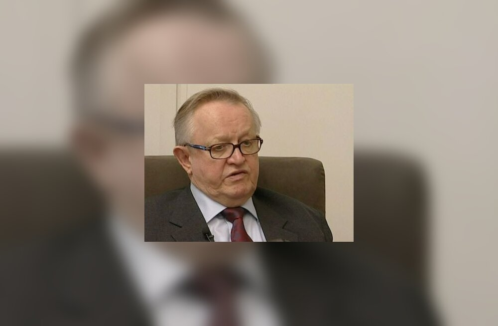 Ahtisaari: uued kriisid ei ole lähiajal välistatud