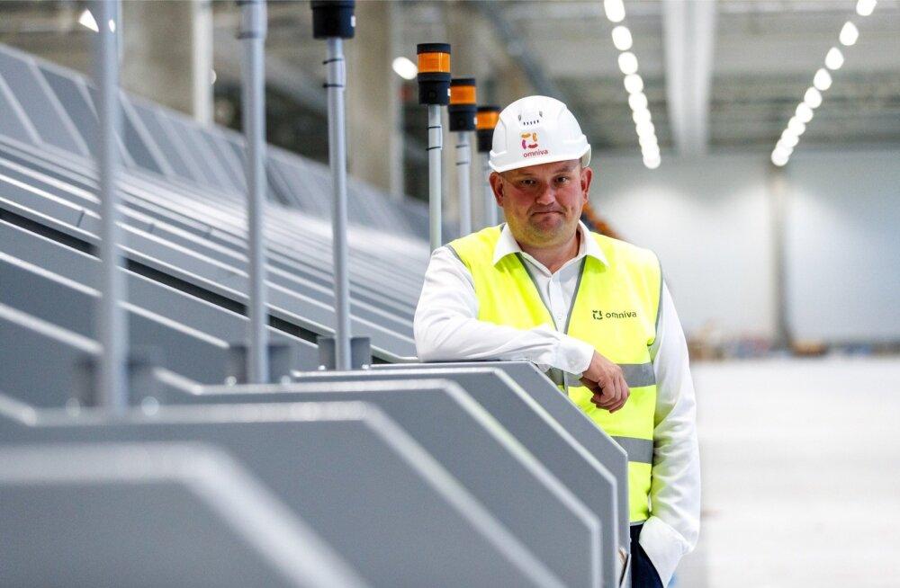 Ansi Arumeel ütleb Omnivale ehitatavas logistikakeskuses, et peagi peaks Omniva töö minema märksa automatiseeritumaks.