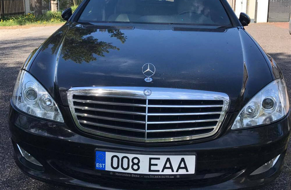 Arvo Sarapuu müüb oma Mercedes-Benzi