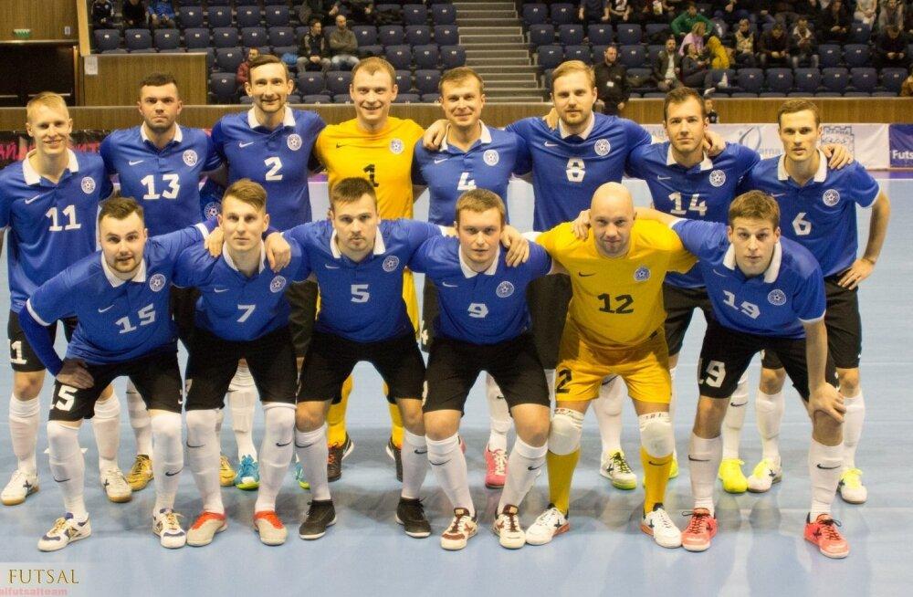 Eesti saalikoondis