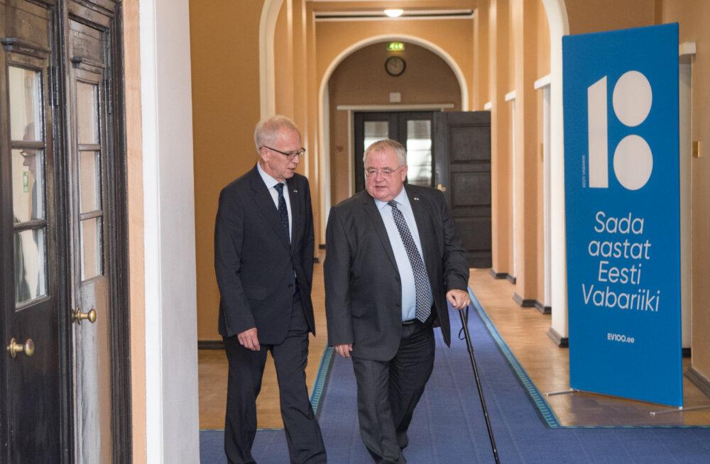 Нестор — ирландскому коллеге: Эстония поддерживает Ирландию в сохранении тесных отношений с Великобританией