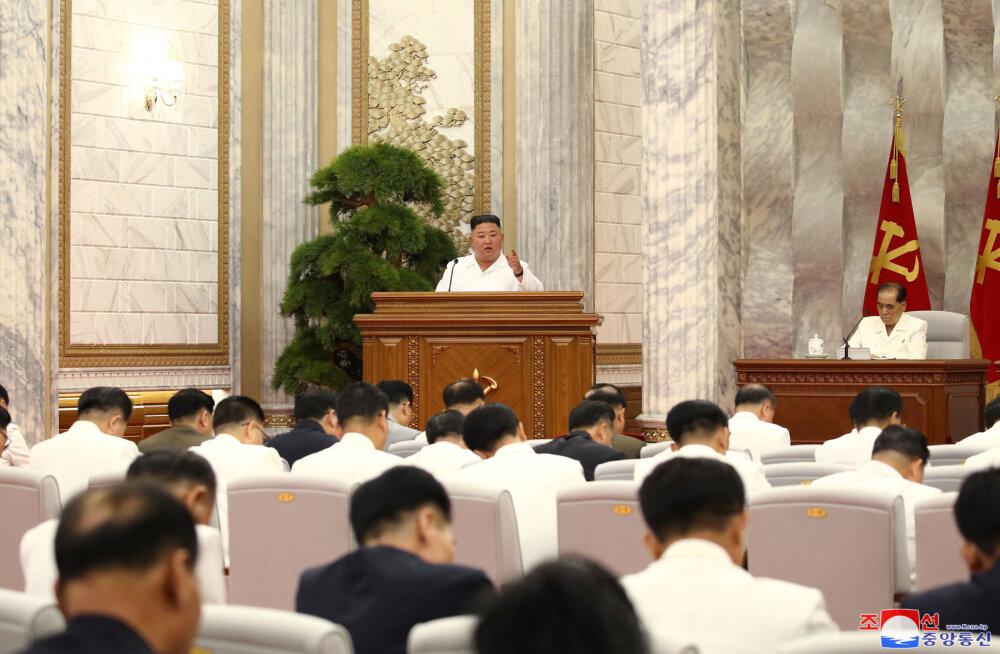 """Kim Jong-un teatas, et Põhja-Korea vastus koroonaviirusele on olnud """"säravalt edukas"""""""