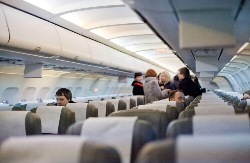 Smartlynx lennuki esitlus