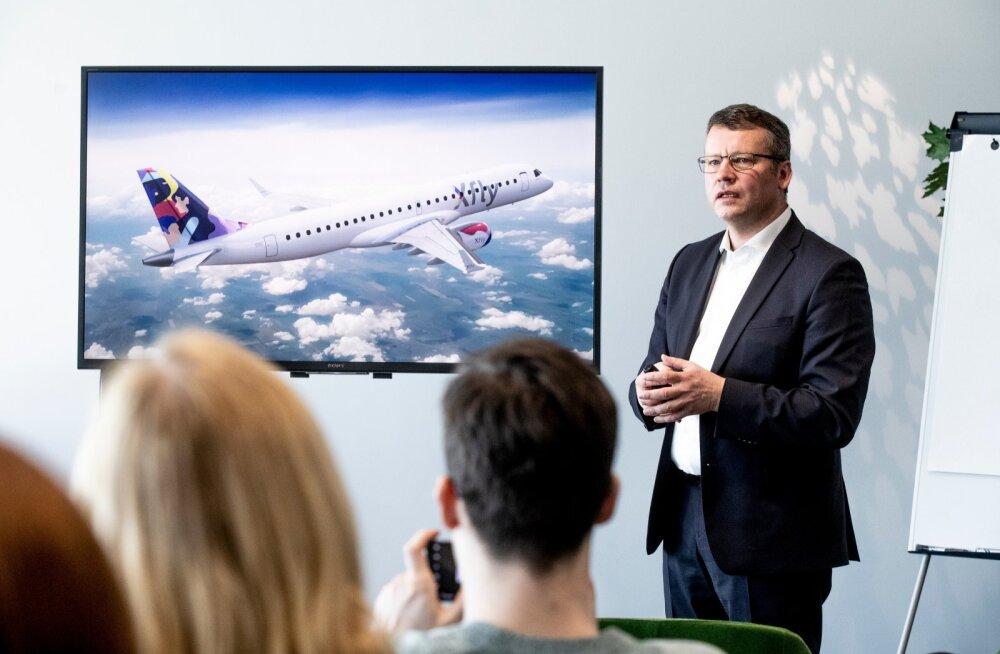 Regional Jet võttis kasutusele uue kaubamärgi Xfly.