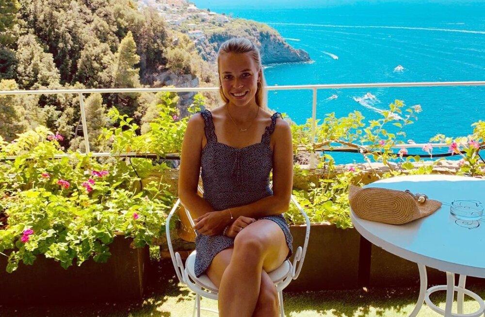 FOTOD   Kontaveit naudib Itaalias puhkust, aga pole ka treenimist unustanud