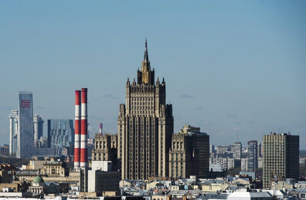 Venemaa välisministeerium ähvardas Ukrainat raskete tagajärgedega