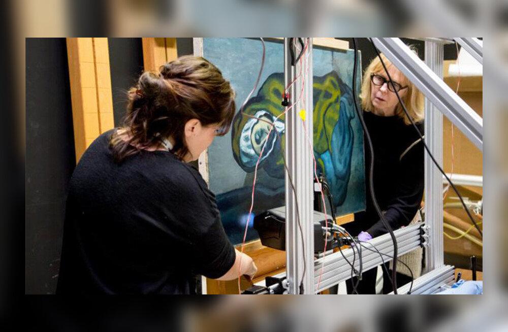 Üllatus: Picasso maali alt tuli välja teinegi kunstiteos